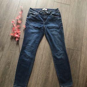 Cabi Jeans skinny blue denim size 8 very nice!